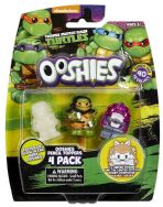 Ooshies 4 Pack Teenage Mutant Ninja Turtles - Dojo Michelangelo Fishface - 76408